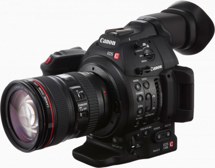 camera Canon c100 utilisée par Richard Duquette directeur photo cinematographer
